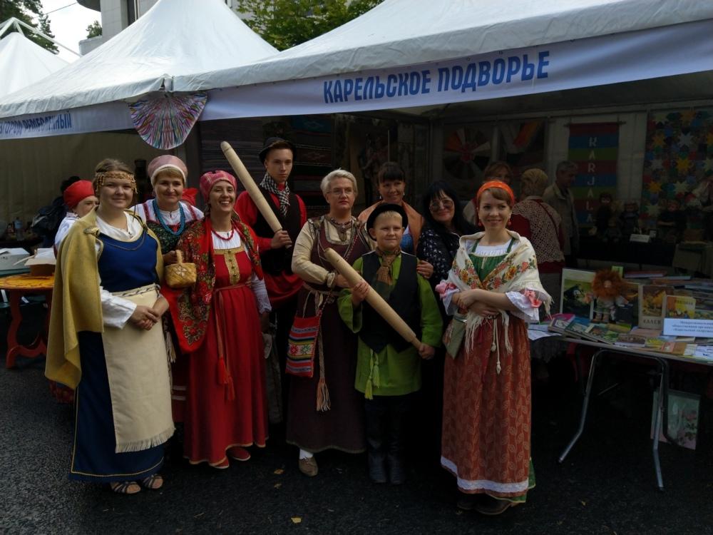 Карелия приняла участие в этнокультурном фестивале «Россия – созвучие культур»