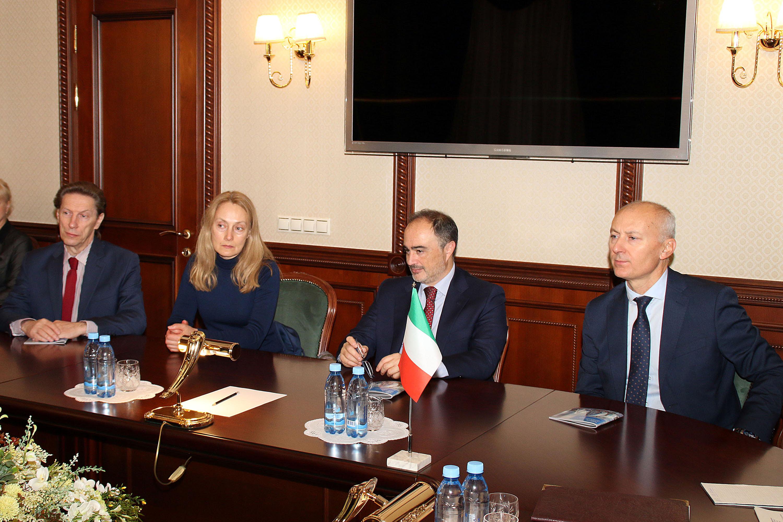 Глава Карелии обсудил с Генконсулом Италии в Санкт-Петербурге перспективы сотрудничества в экономике и культуре